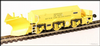 Hattons H4-BH-003 Beilhack snow plough (ex Class 40) ZZA ADB965578 in BR yellow